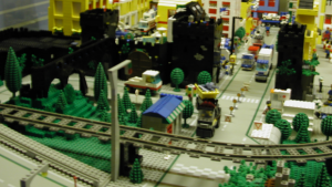 The gang controls a number of Legoland City's suburbs