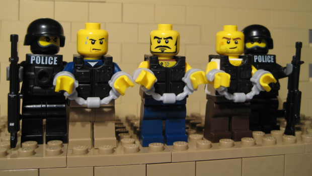 El Plato pictured with captured associates