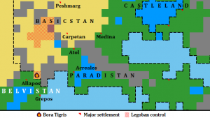 The capture of Bora Tigris as caused concern in the Belvistan capital Grepos