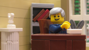 The Legopolis government's protests have seemingly halted the aid delivery