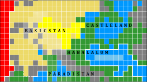 Territory now under Legoban control is shown in yellow