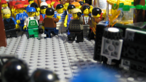 There are thought to be over 1,000 foreign born figs in Legoland. In recent years a growing divide has emerged between immifigs and Classic figs leading to multiple instances of public disorder.