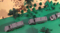 Having entered Duplostan by crashing straight through the border barriers, the Imperial Army convoy that first entered Belvistan on Friday quickly exited the country on the main highway that connects Allapo and the Duplostan city of Shauman. Ariel photographs […]